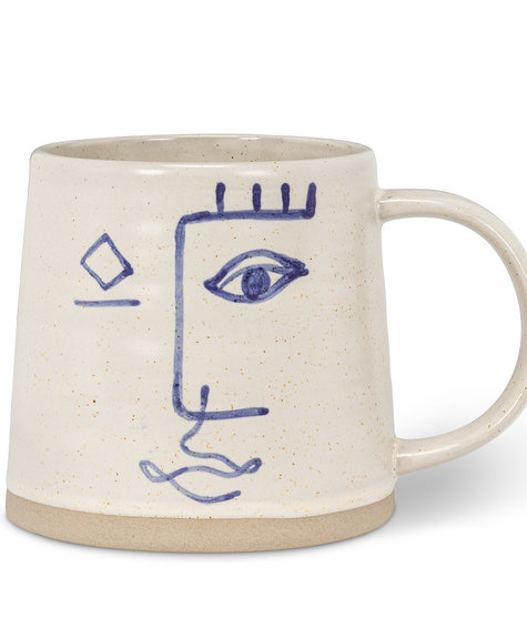 Abbott Mug Modern face