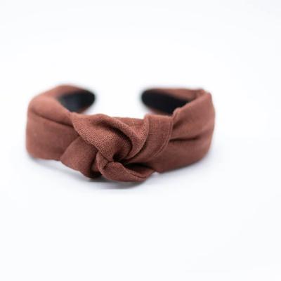 Femme Faire Headband Textured Knit -  Cinnamon