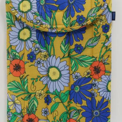 """Baggu Laptop Sleeve 15"""" -  Wallpaper Floral"""