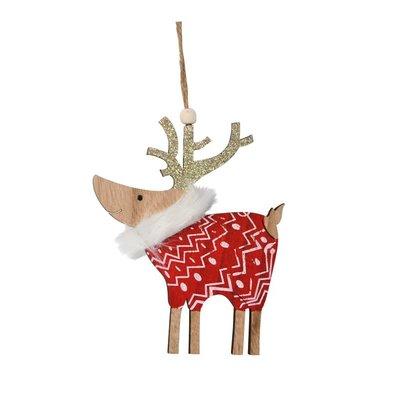 Nostalgia Ornament - Red Deer
