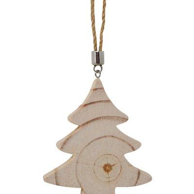 Nostalgia Ornament -  Wooden Tree
