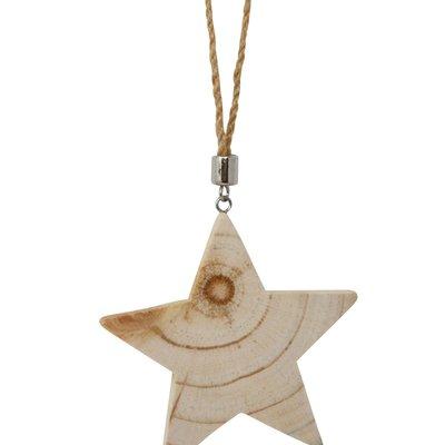 Nostalgia Ornament -  Wooden Star