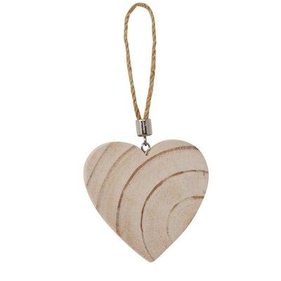 Nostalgia Ornament -  Wooden Heart