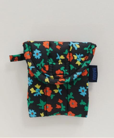 Baggu Airpods case - Calico Floral