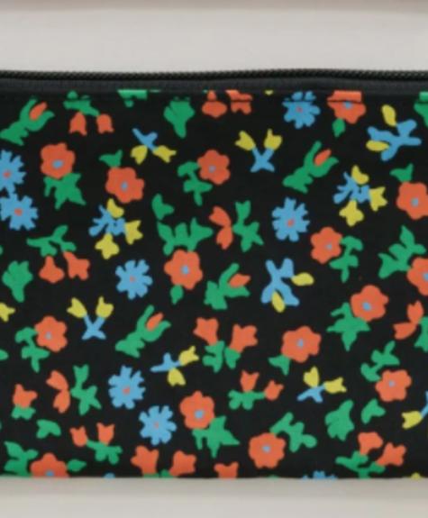 Baggu Flat Pouch - Calico Florals
