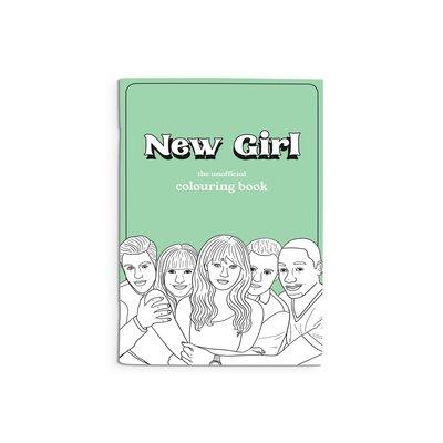 Party Mountain Paper Cahier de coloriage - New Girl