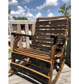 Leiper's Fork Distillery Barrel Rocking Chair
