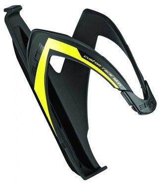 Elite Porte-bidon Elite Custom Race noir mat et jaune