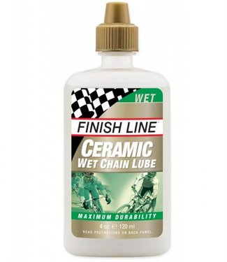 Finish Line Lubrifiant Finish Line (4 oz) Ceramic Wet Chain Lube