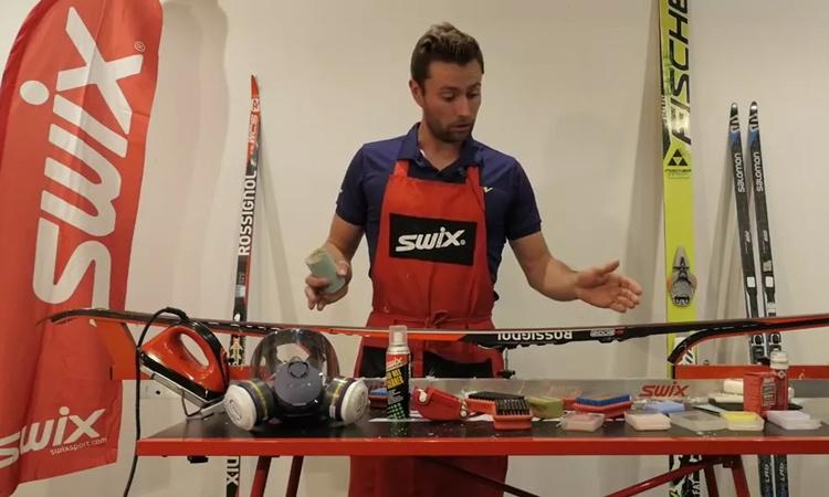 Entreposage de vos skis de fond