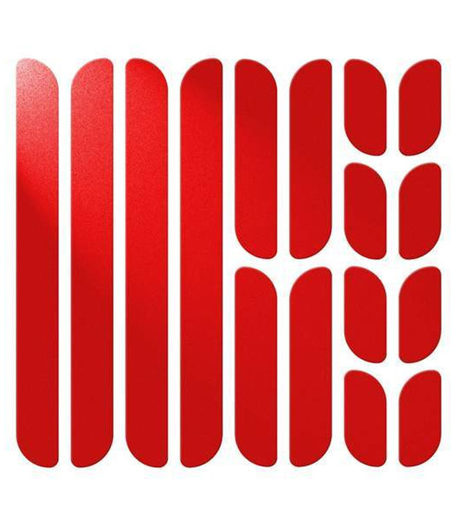 Flectr Réflecteurs Flectr pour cadre (rouge)