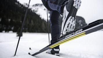 """Les skis de fond """"Skins"""""""