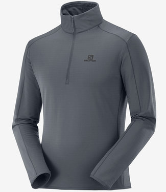 Salomon Chandail Salomon Half Zip Mid.