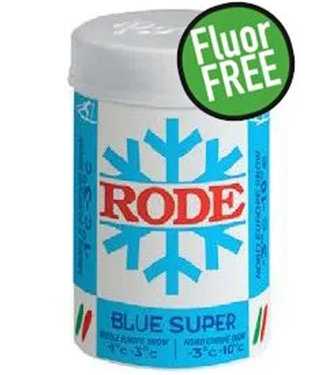 Rode Fart Rode Bleu Super.