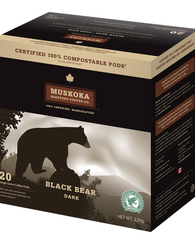 Muskoka Muskoka - Black Bear (20 Count)
