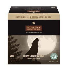 Muskoka Muskoka - Howling Wolf Pod (20 Count)