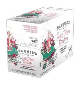 Barnie's Barnie's Santa White Christmas