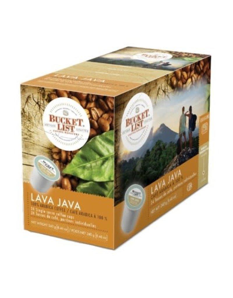 Bucket List Bucket List - Lava Java