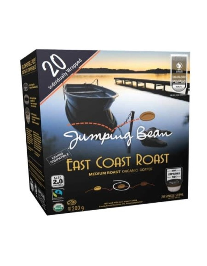 Jumping Bean Jumping Bean - East Coast Roast (20 Count)