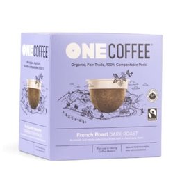 One Coffee One Coffee - French Roast (18 Count)