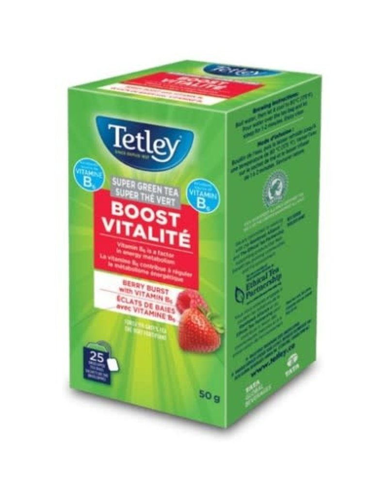Tetley Tetley - Boost Berry