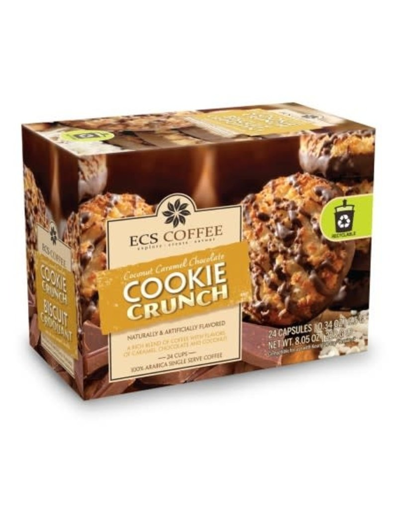 ECS ECS Coffee - Coconut Caramel Chocolate Cookie Crunch