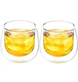 Grosche FRESNO Double Walled Glass Cups - Set of 2