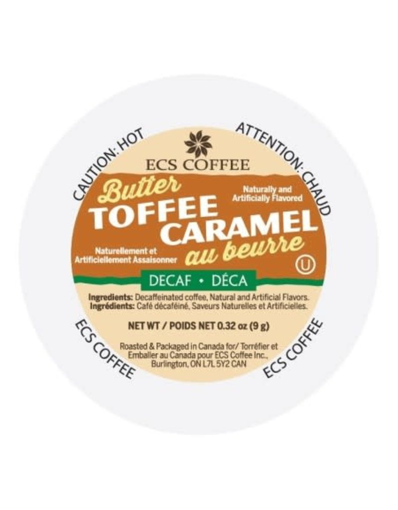 ECS ECS - Butter Toffee Decaf single