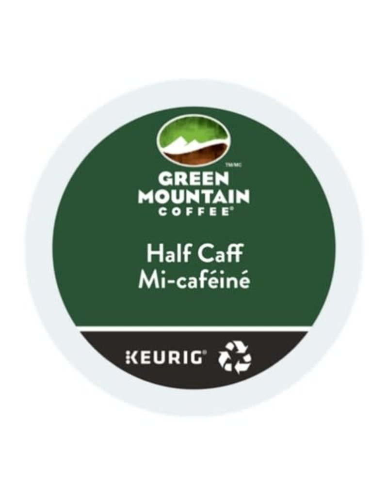Green Mountain Green Mountain - Half Caff single