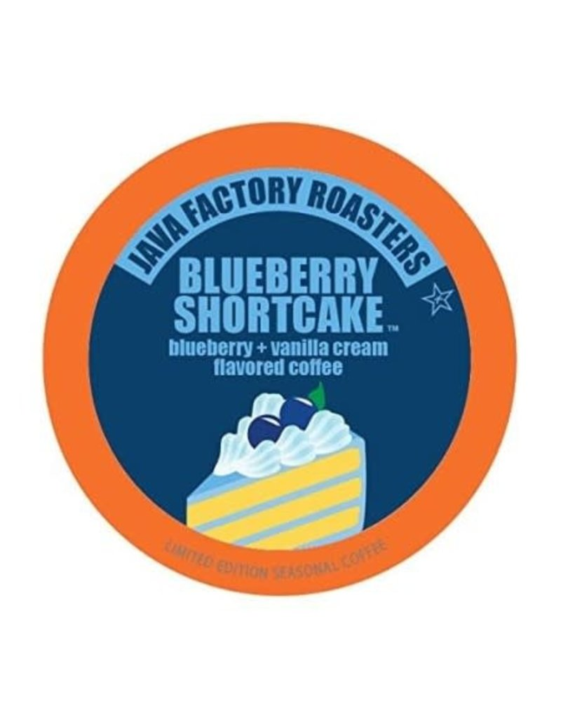 Java Factory Java Factory - Blueberry Shortcake single