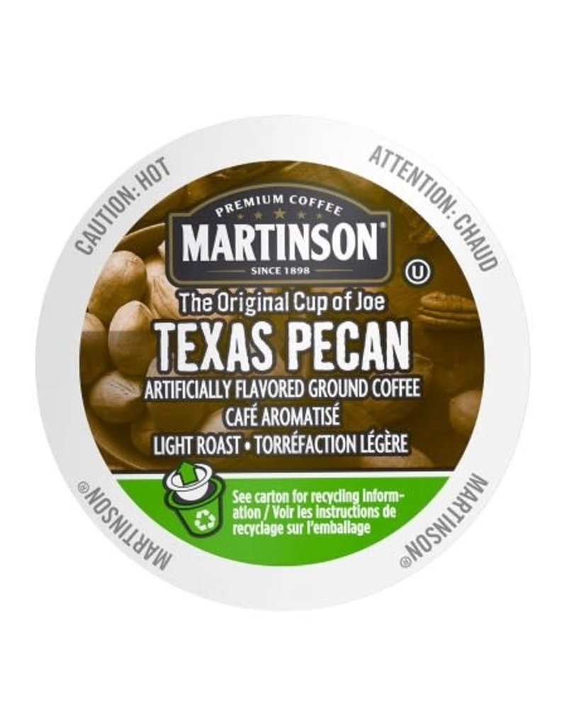Martinson Coffee Martinson - Texas Pecan single