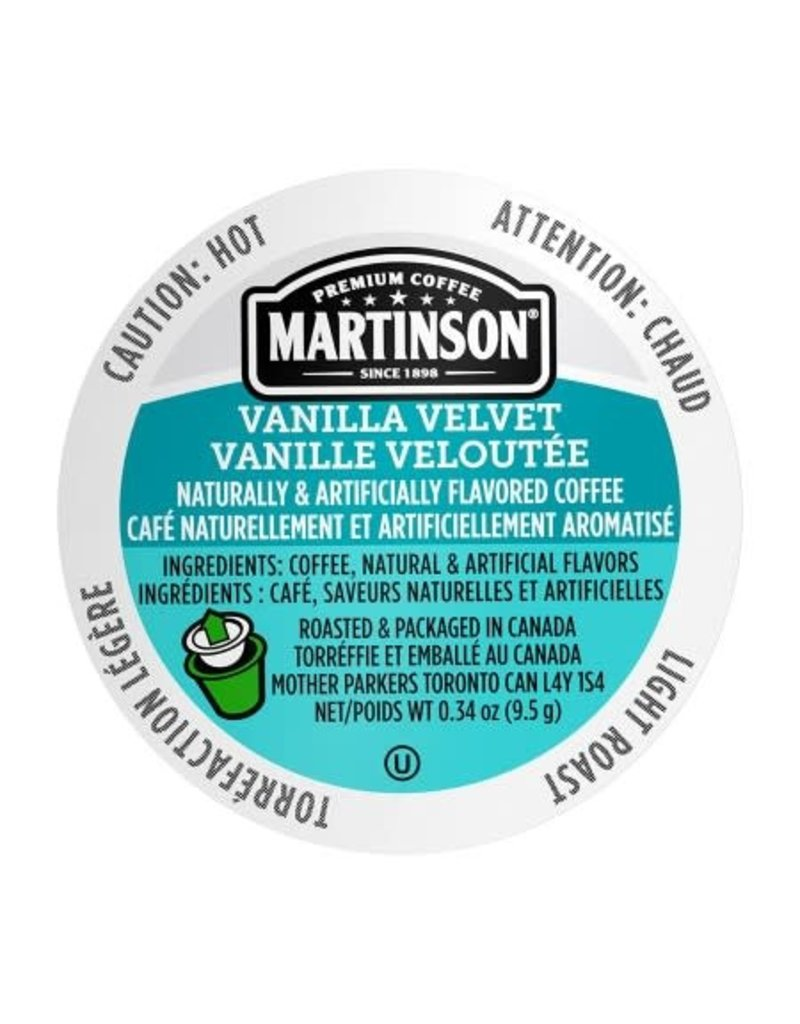 Martinson Coffee Martinson - Vanilla Velvet single