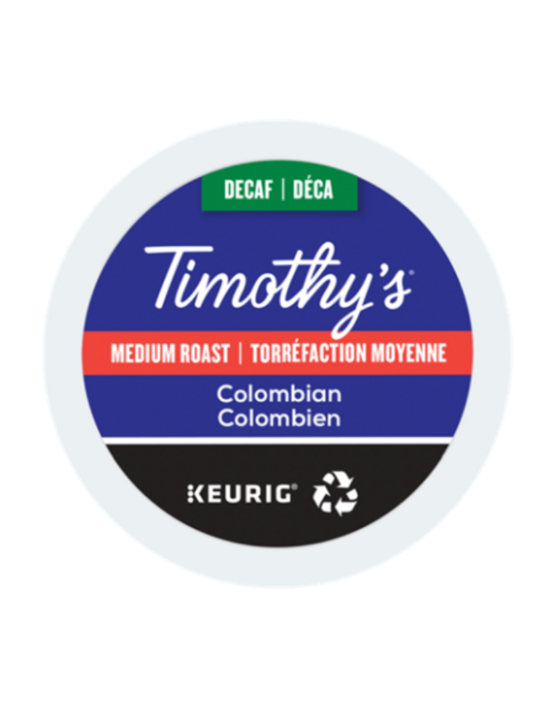 Timothy's Timothy's - Colombian Decaf single