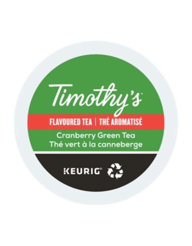 Timothy's Timothy's - Cranberry Green Tea single