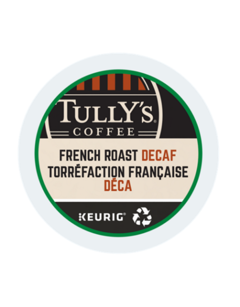 Tully's Tully's - French Roast Decaf single