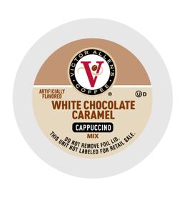 Victor Allen - White Choc Caramel Capp single