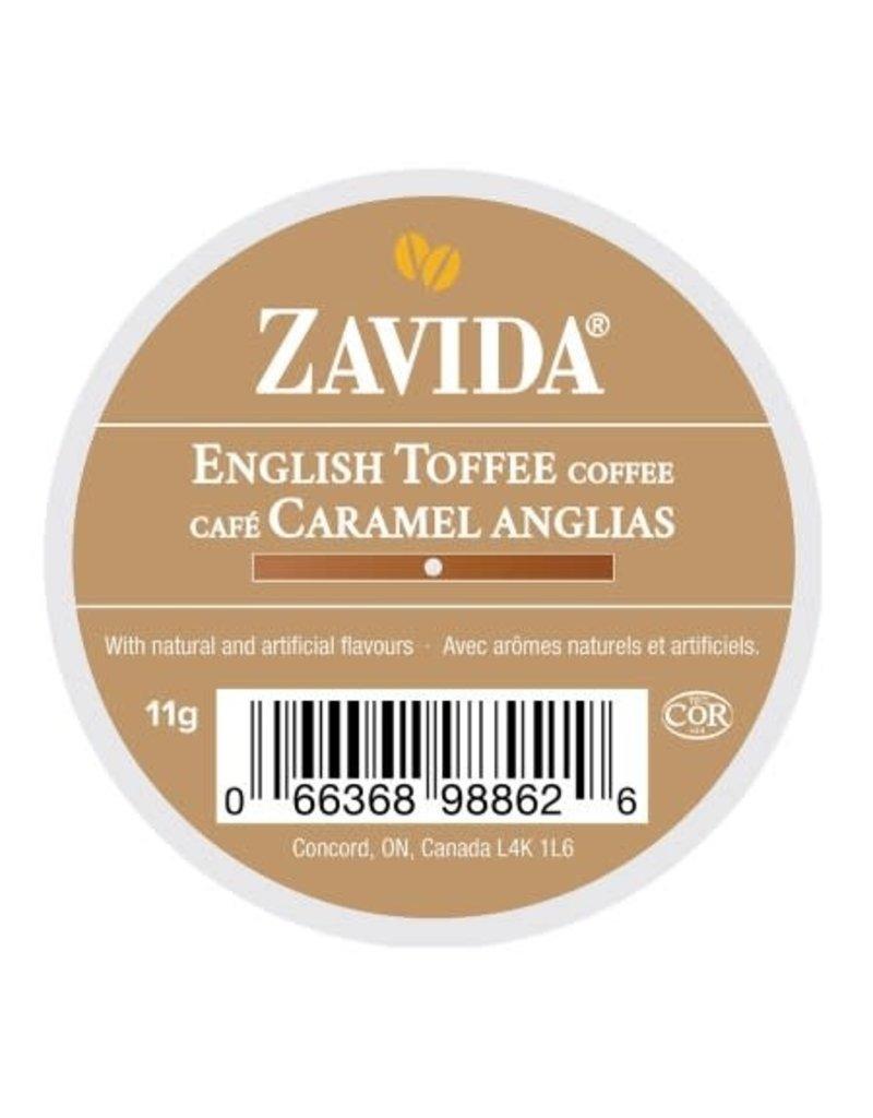 Zavida Zavida - English Toffee single