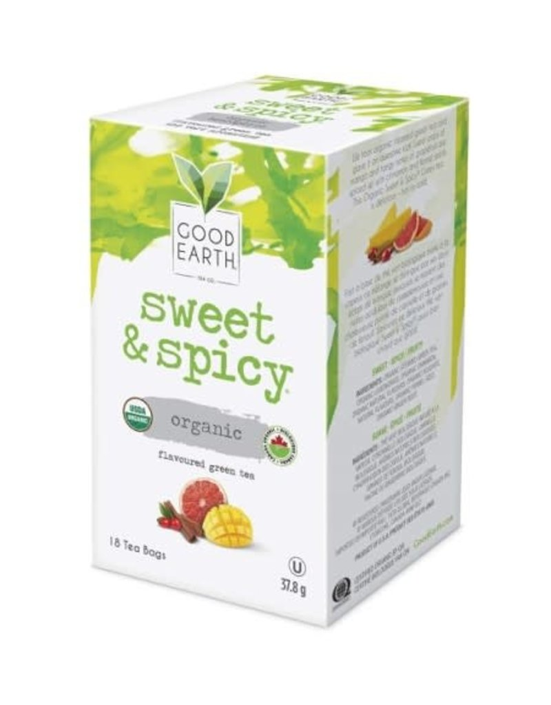 Good Earth Tea - Sweet & Spicy Green Tea