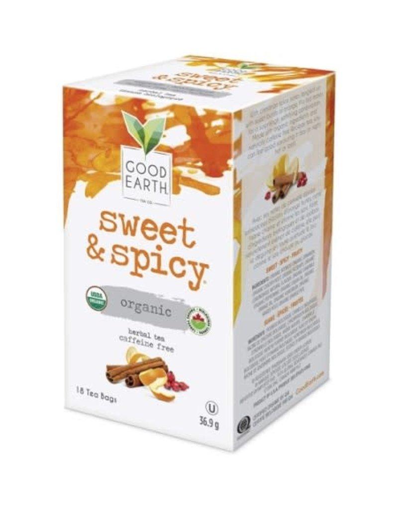 Good Earth Tea - Sweet & Spicy Herbal Tea