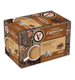 Victor Allen - English Toffee Cappuccino (12 Count)