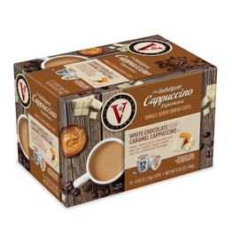 Victor Allen - White Chocolate Caramel Cappuccino (12 Count)
