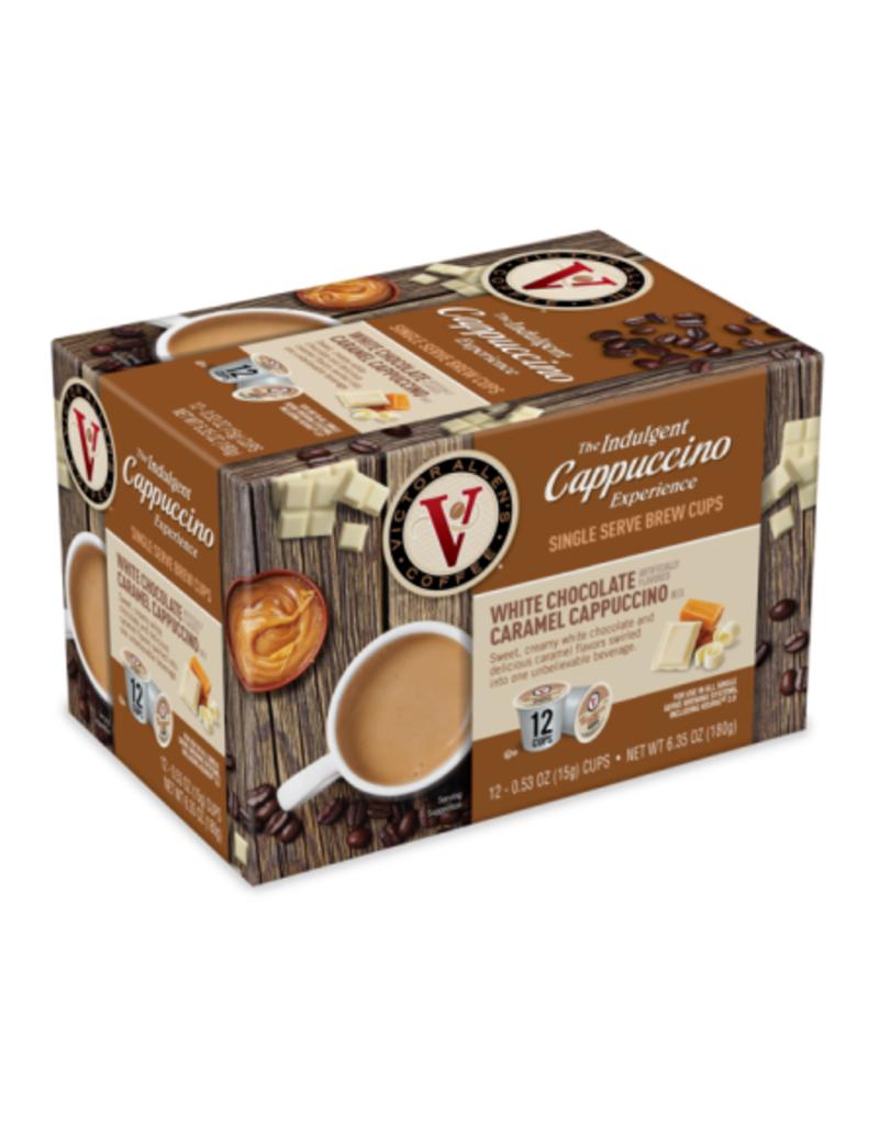 Victor Allen - White Chocolate Caramel Cappuccino (12 Count)
