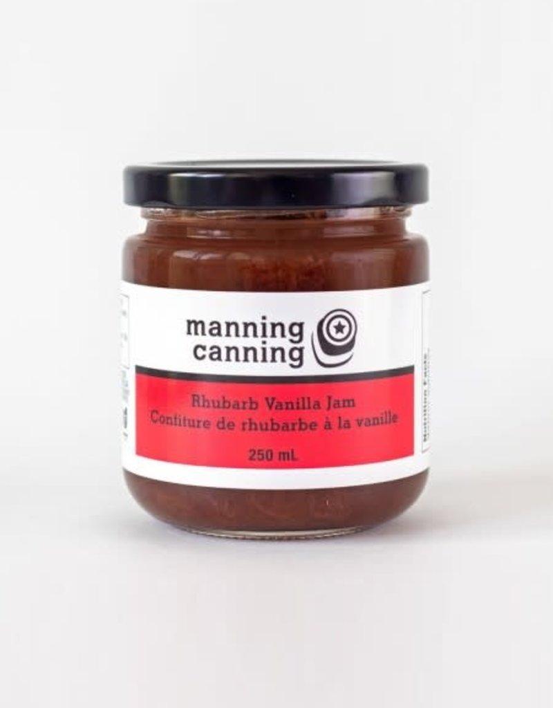 Manning Canning Manning Canning - Rhubarb Vanilla Jam