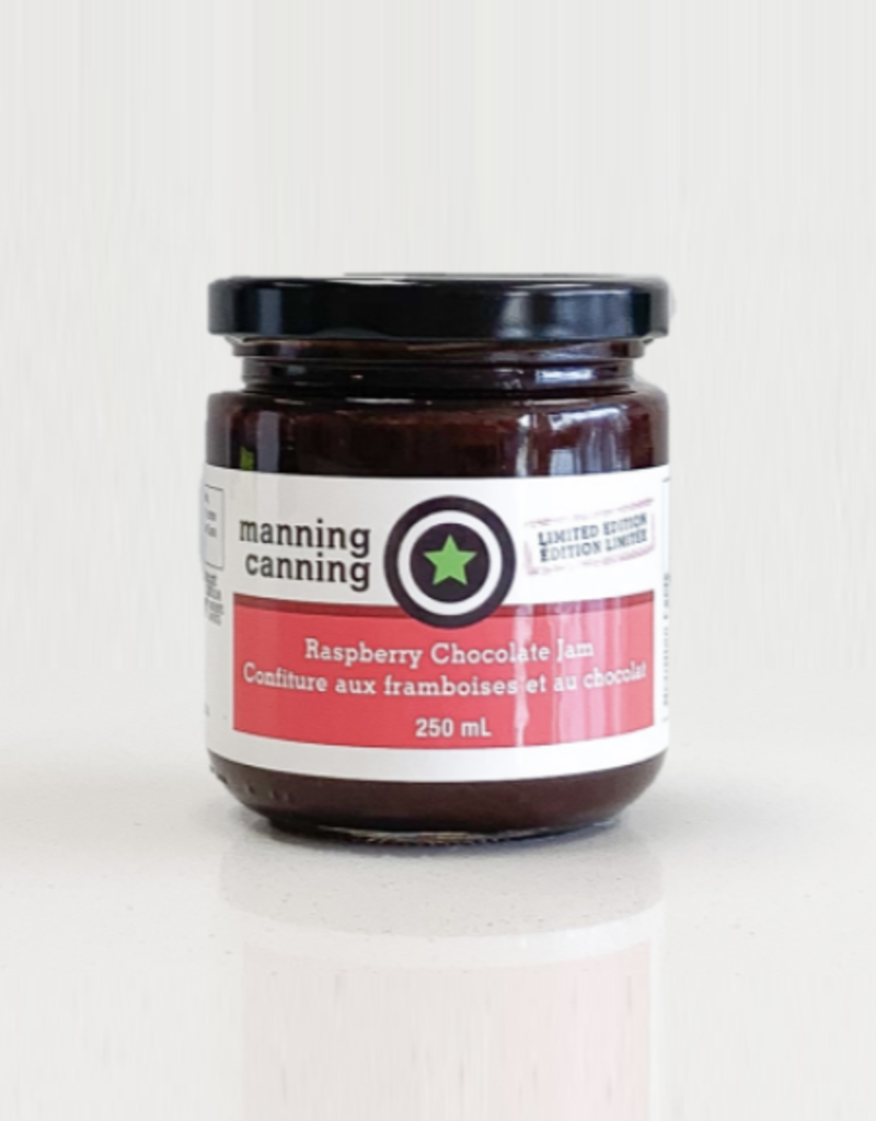 Manning Canning Manning Canning - Raspberry Chocolate Jam