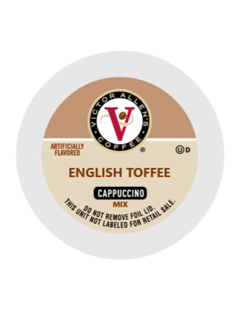 Victor Allen - English Toffee Cappuccino single