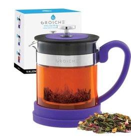 Grosche Valencia Tea Infuser Teapot Purple