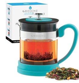 Grosche Valencia Tea Infuser Teapot Blue