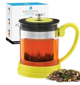 Grosche Valencia Tea Infuser Teapot Yellow