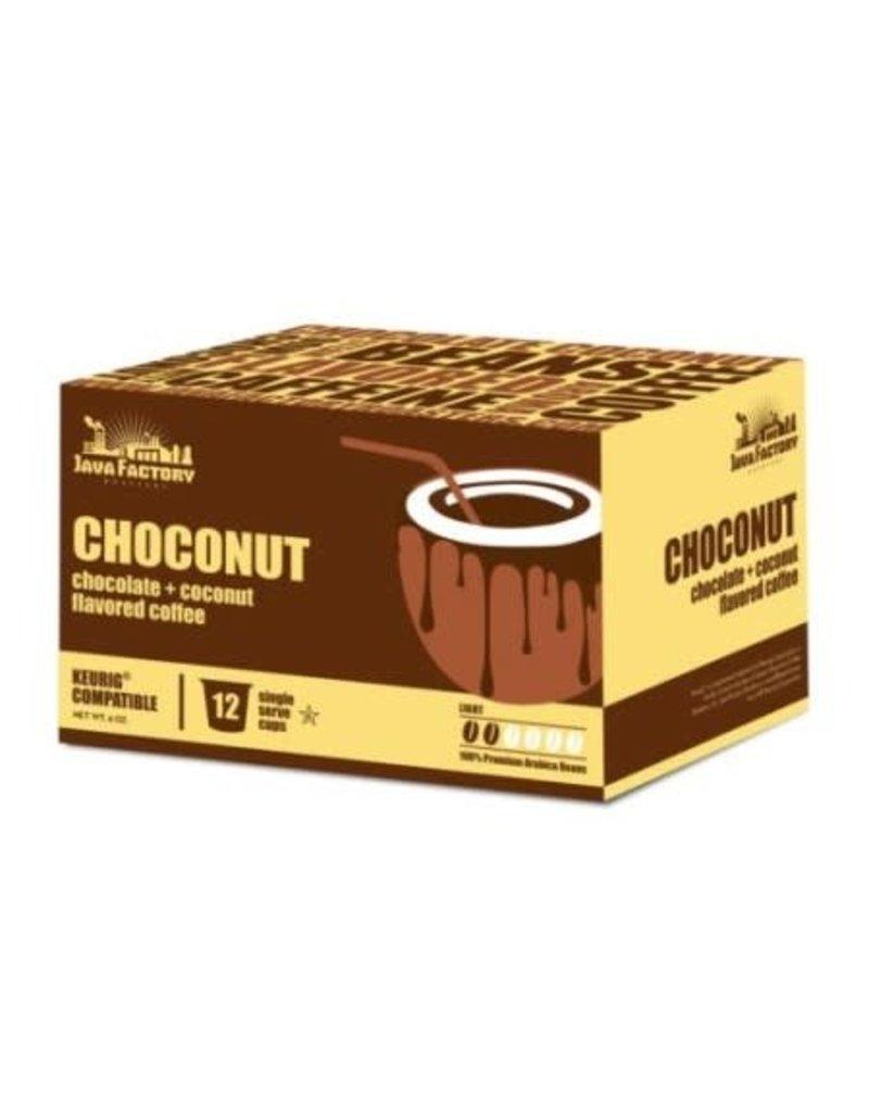 Java Factory Java Factory - Choconut (12 Count)