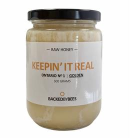 Backed by Bees Honey - Raw Honey 500g